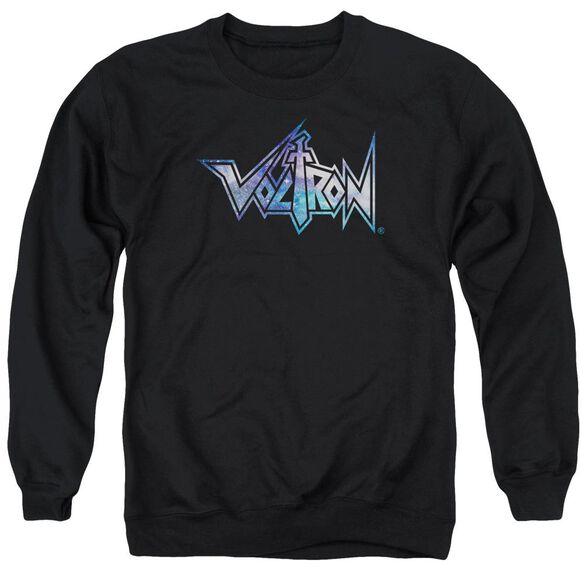 Voltron Space Logo Adult Crewneck Sweatshirt