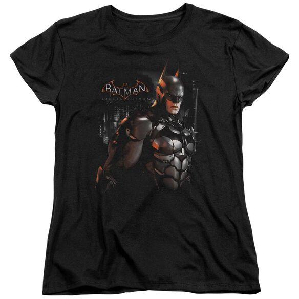 Batman Arkham Knight Dark Knight Short Sleeve Womens Tee T-Shirt