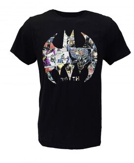 Batman 80th Anniversary Logo T-Shirt