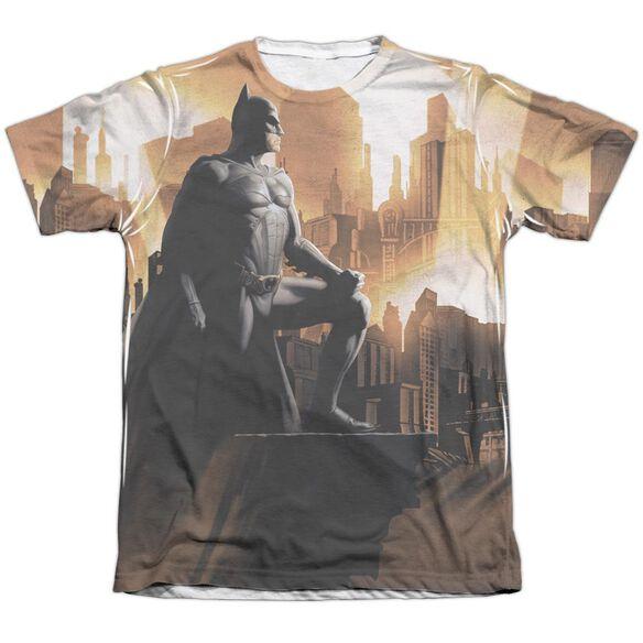 Batman Begins My City Adult Poly Cotton Short Sleeve Tee T-Shirt