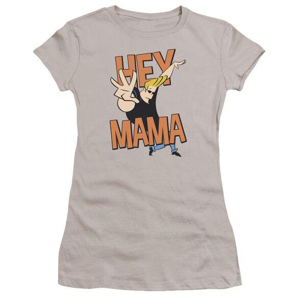 Johnny Bravo Hey Mama Premium Bella Junior Sheer Jersey