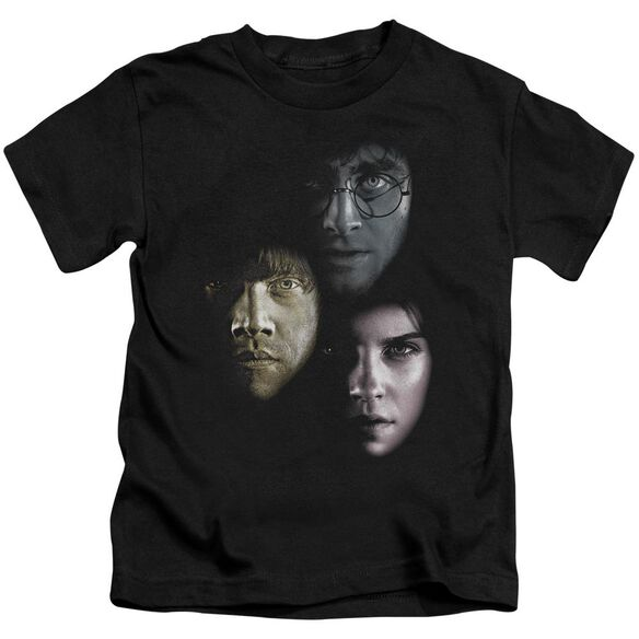 Harry Potter Hero Heads Short Sleeve Juvenile Black T-Shirt