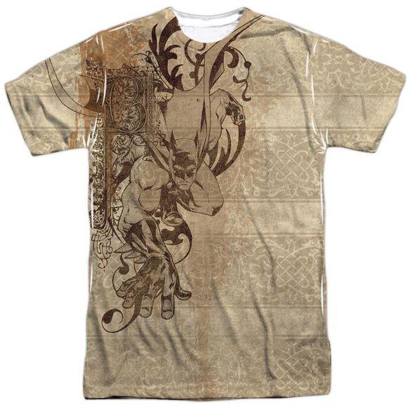 Batman B Is For Batman Short Sleeve Adult 100% Poly Crew T-Shirt