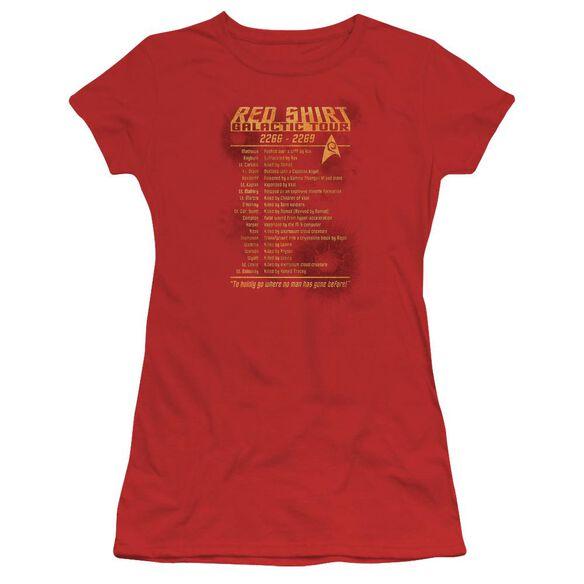 Star Trek Shirt Tour Short Sleeve Junior Sheer T-Shirt