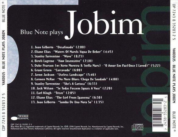 Blue Notes Plays Jobim396