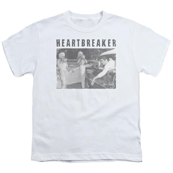 Elvis Heartbreaker Short Sleeve Youth T-Shirt