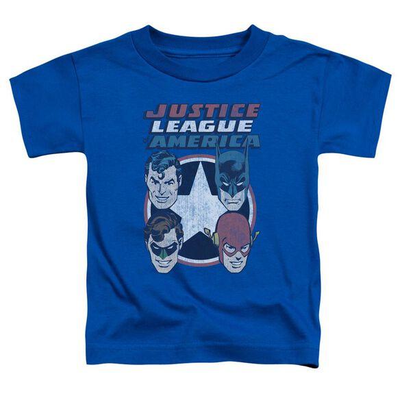 Dco 4 Stars Short Sleeve Toddler Tee Royal Blue Lg T-Shirt