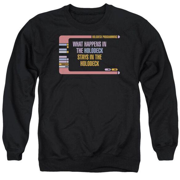 Star Trek Holodeck Secrets Adult Crewneck Sweatshirt