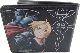 Fullmetal Alchemist Flamel Double Duo Wallet