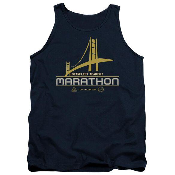 Star Trek Marathon Logo Adult Tank