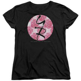 Young And The Restless Young Roses Short Sleeve Womens Tee T-Shirt