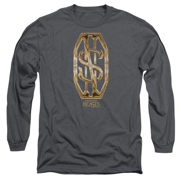 Fantastic Beasts Scamander Monogram Long Sleeve Adult T-Shirt