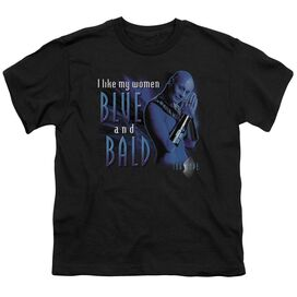 Farscape Blue And Bald Short Sleeve Youth T-Shirt