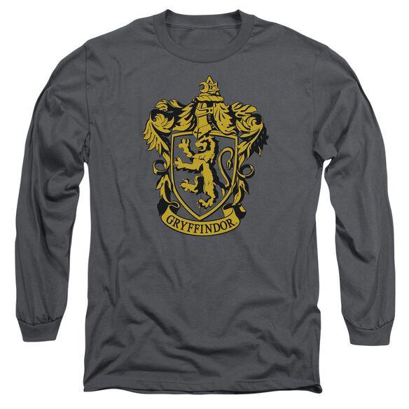 Harry Potter Gryffindor Crest Long Sleeve Adult T-Shirt