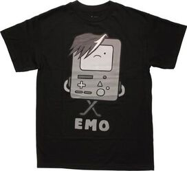 Adventure Time BMO EMO T-Shirt