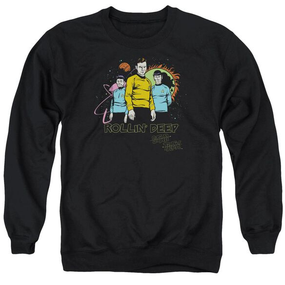 Star Trek Rollin Deep Adult Crewneck Sweatshirt