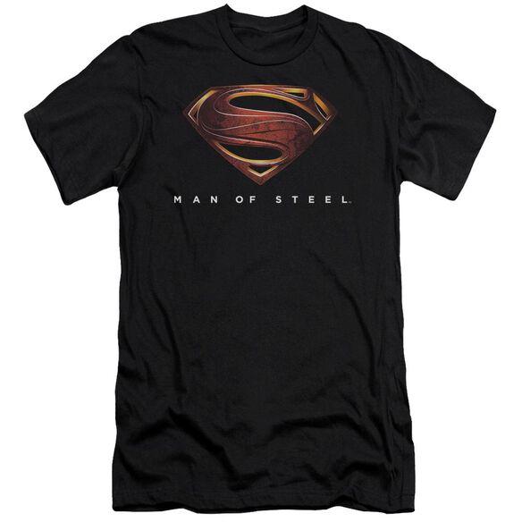 Man Of Steel Mos New Logo Short Sleeve Adult T-Shirt