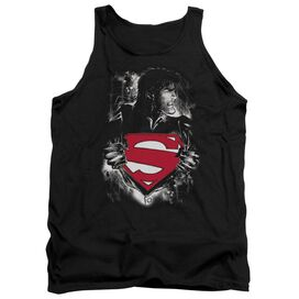 Superman Darkest Hour - Adult Tank