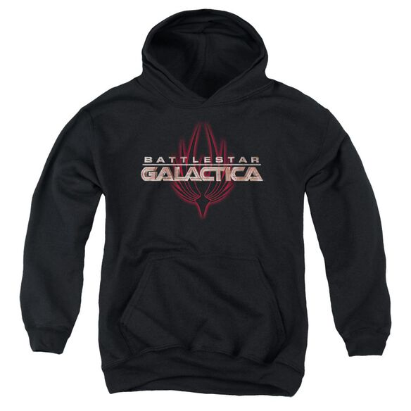 Bsg Logo With Phoenix Youth Pull Over Hoodie