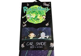 Rick and Morty Car Shade