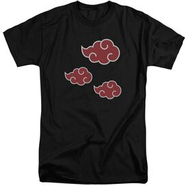 Naruto Shippuden Akatsuki Clouds Short Sleeve Adult Tall T-Shirt