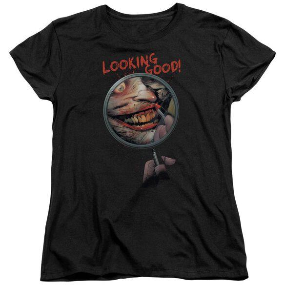 Batman Looking Good Short Sleeve Womens Tee T-Shirt