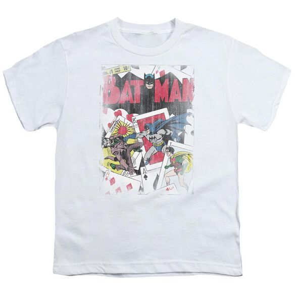 Dc Number 11 Distressed Short Sleeve Youth T-Shirt