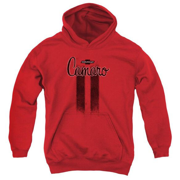 Chevrolet Camaro Stripes Youth Pull Over Hoodie