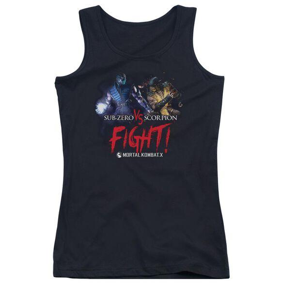 Mortal Kombat X Fight Juniors Tank Top