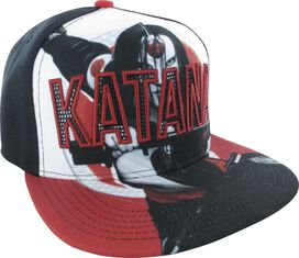 Suicide Squad Katana Snapback Hat