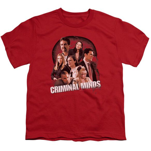 Criminal Minds Brain Trust Short Sleeve Youth T-Shirt