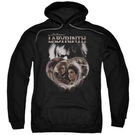 Labyrinth Globes Adult Pull Over Hoodie