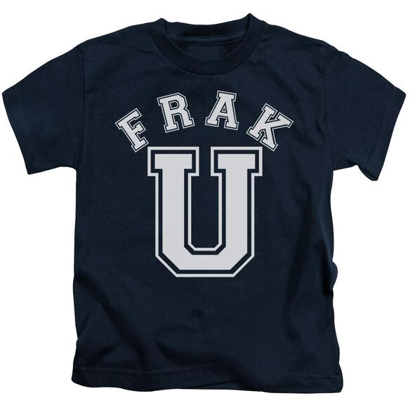 Bsg Frak U Short Sleeve Juvenile Navy T-Shirt