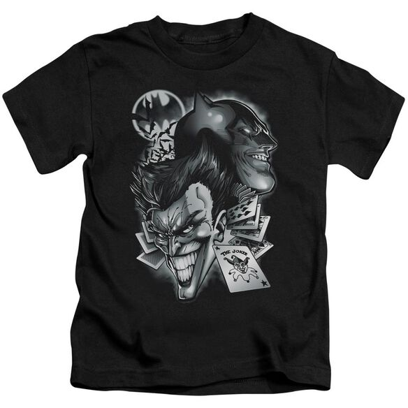 Batman Archenemies Short Sleeve Juvenile Black T-Shirt