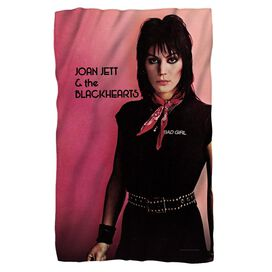 Joan Jett Crimson And Clover Fleece Blanket