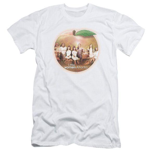 Little Women Atlanta Peach Pie Short Sleeve Adult T-Shirt