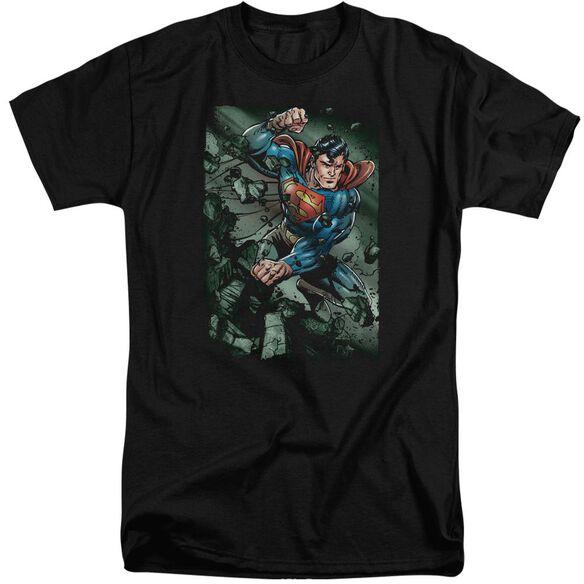 Superman Indestructible Short Sleeve Adult Tall T-Shirt