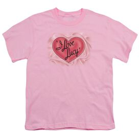 I Love Lucy Classic Logo Short Sleeve Youth T-Shirt