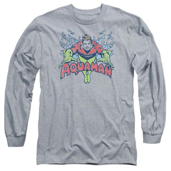 Dc Splish Splash Long Sleeve Adult Athletic T-Shirt
