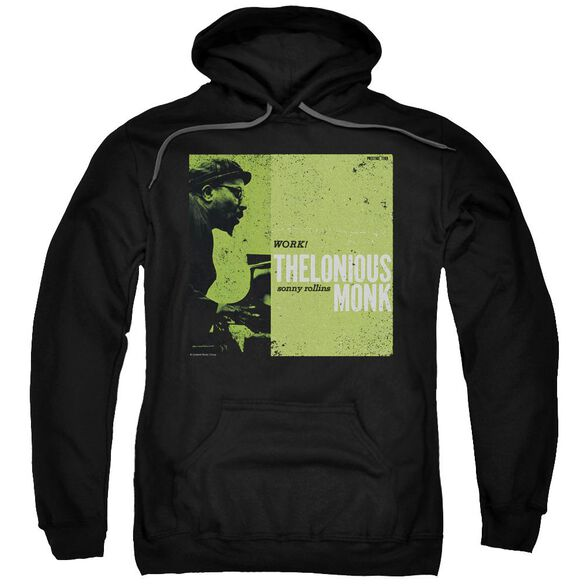Thelonious Monk Work - Adult Pull - Over Hoodie - Black