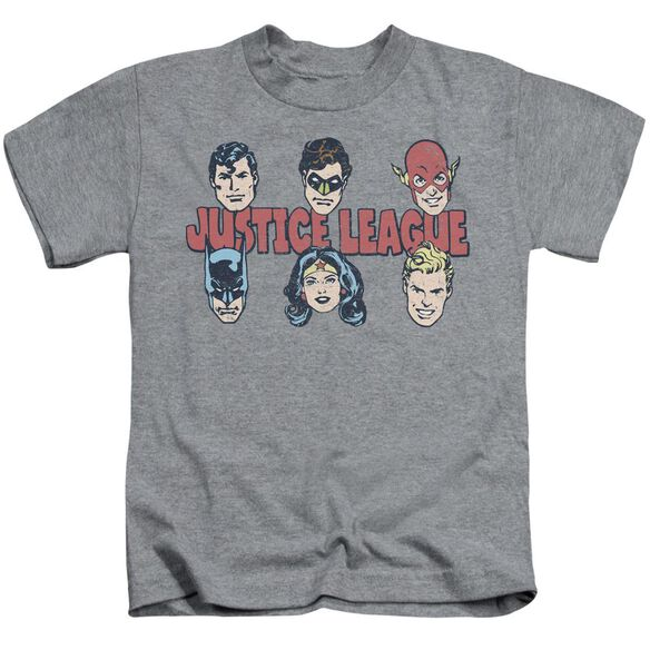 Dc Justice Lineup Short Sleeve Juvenile Athletic T-Shirt