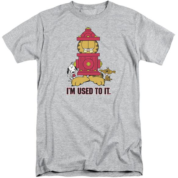 Garfield I'm Used To It Short Sleeve Adult Tall Athletic T-Shirt