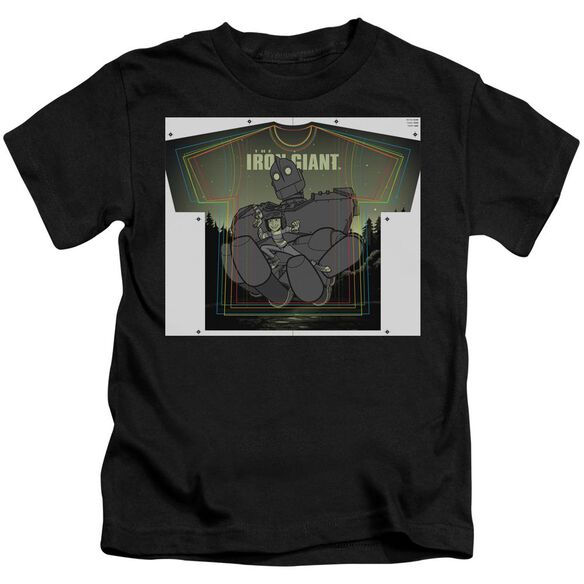 Iron Giant Helping Hand Short Sleeve Juvenile T-Shirt