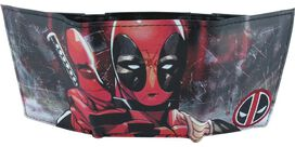 Deadpool Poised Tri Fold Wallet