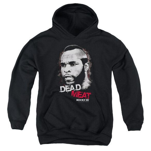 Rocky Iii Dead Meat Youth Pull Over Hoodie