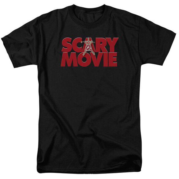 Scary Movie Logo Short Sleeve Adult T-Shirt