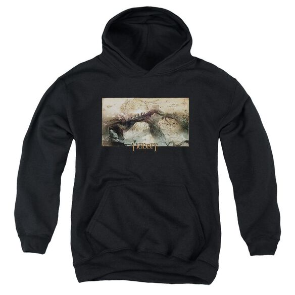 Hobbit Epic Journey Youth Pull Over Hoodie