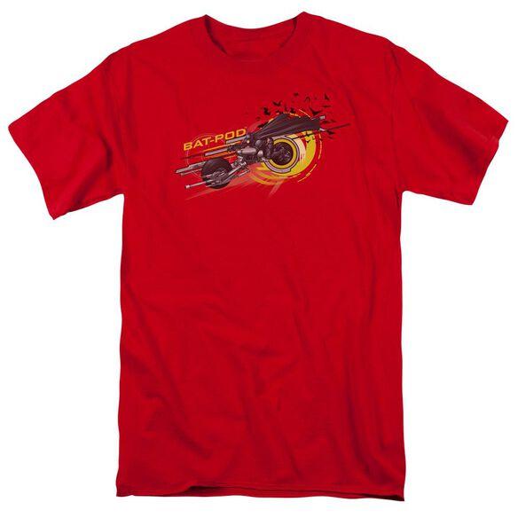 Dark Knight Bat Pod Short Sleeve Adult T-Shirt