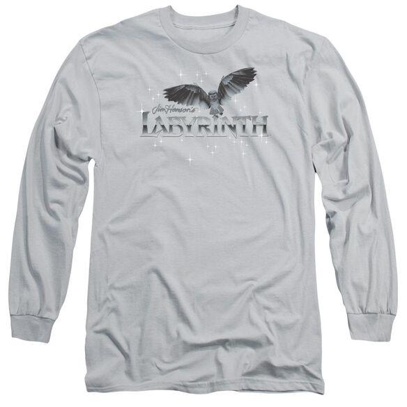 Labyrinth Owl Logo Long Sleeve Adult T-Shirt