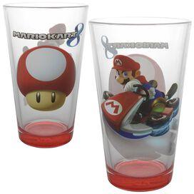 Mario Kart 4 Characters Racing Pint Glass Set